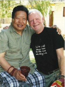 1-Akong Rinpoche and Rob Image