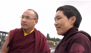 Karmapa and Sister